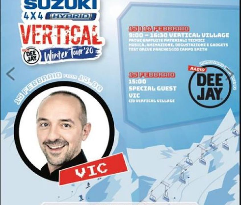 Radio Deejay Vertical Tour 2020